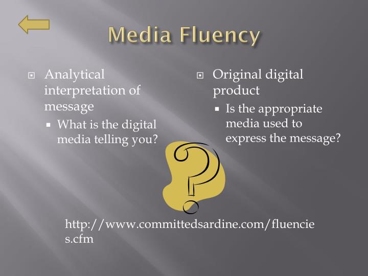 Media Fluency