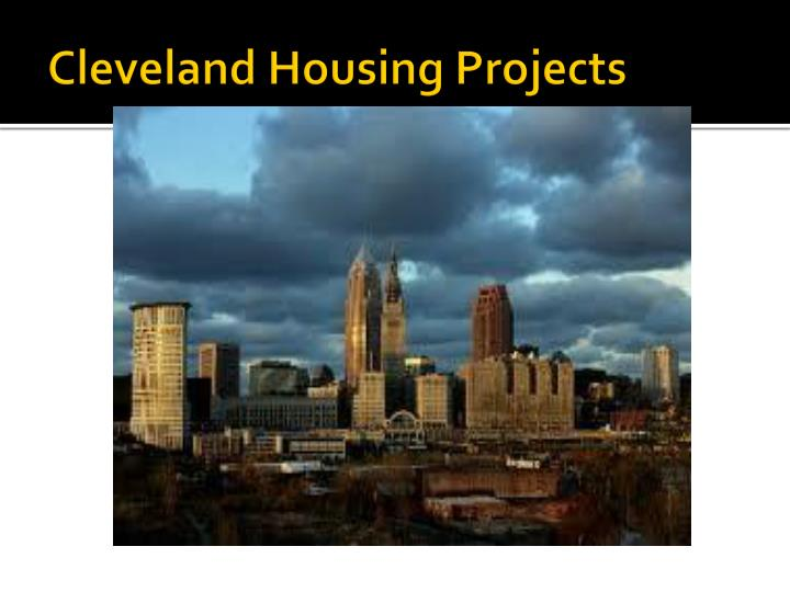 Cleveland Housing Projects