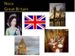 nora great britain