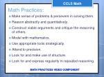math practices