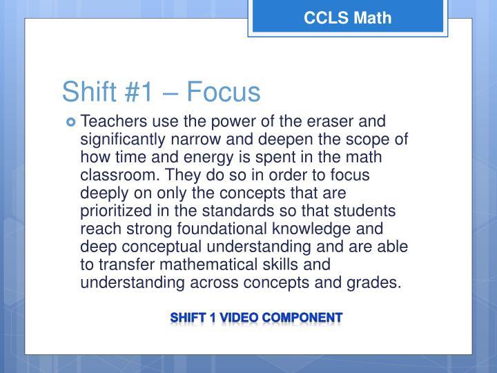 CCLS Math