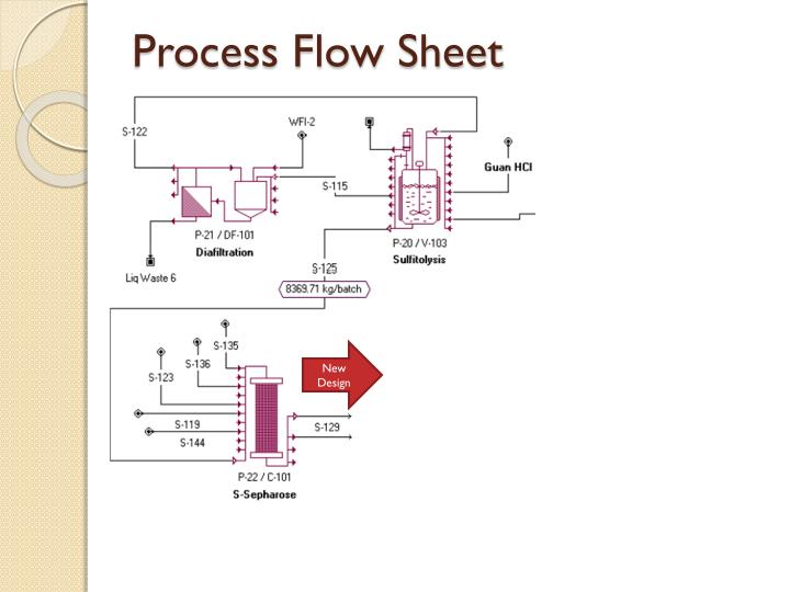 Process Flow Sheet