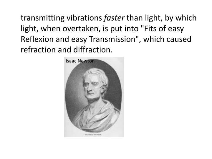 transmitting vibrations
