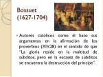 bossuet 1627 1704