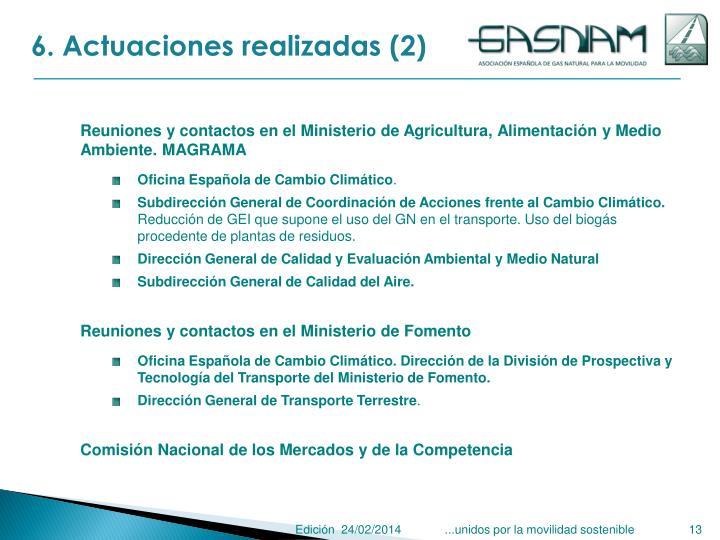6. Actuaciones realizadas (2)