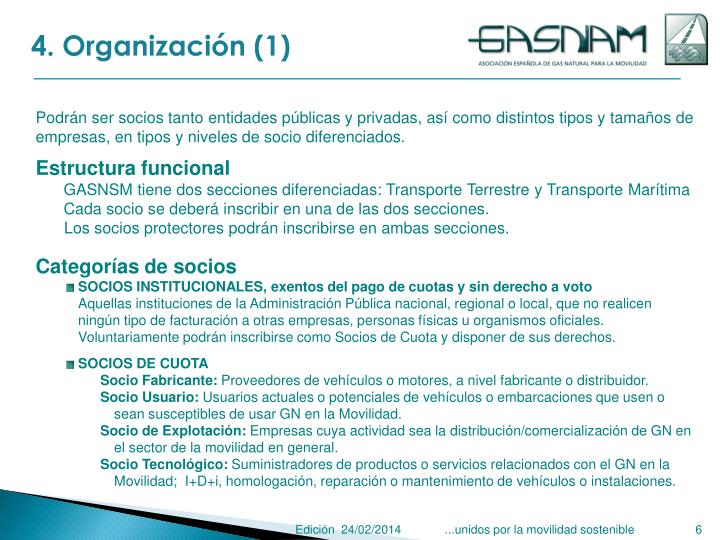 4. Organización (1)