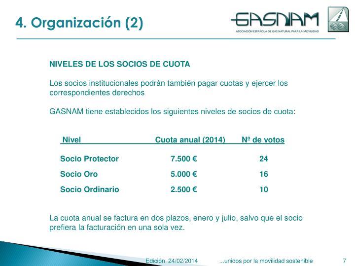 4. Organización (2)