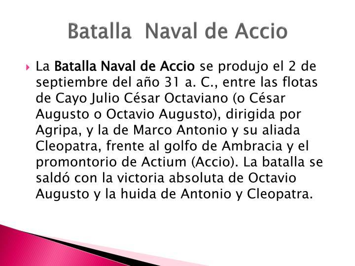 Batalla  Naval de