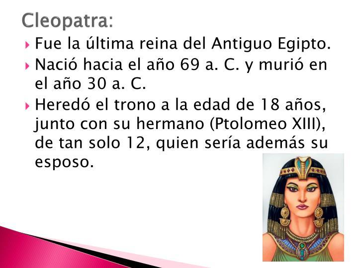 Cleopatra: