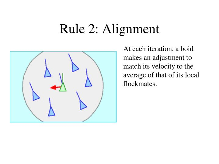 Rule 2: Alignment