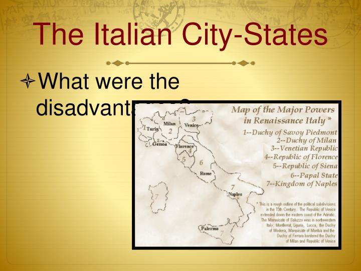 The Italian City-States