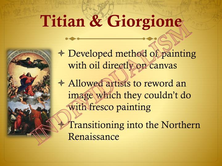 Titian & Giorgione