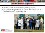environmental engineers
