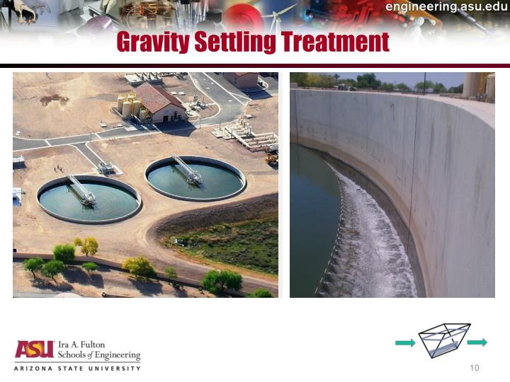 Gravity Settling Treatment