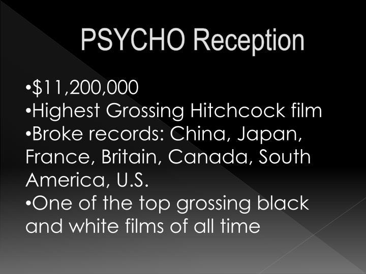 PSYCHO Reception