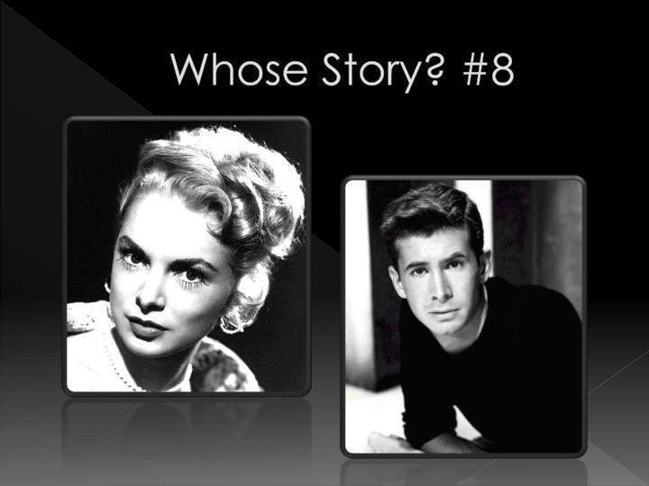 Whose Story? #8