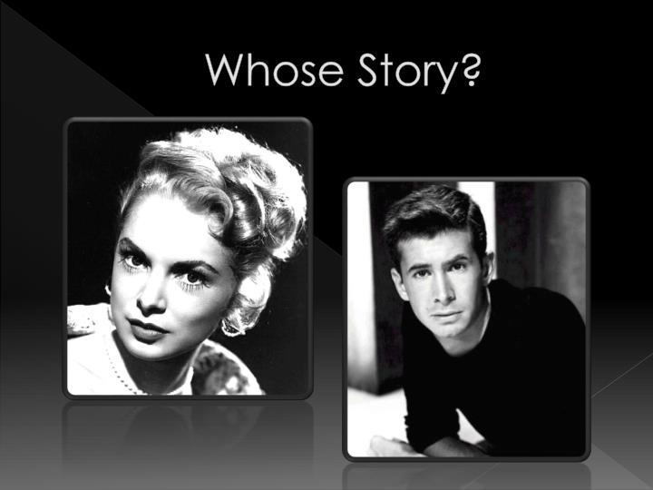 Whose Story?