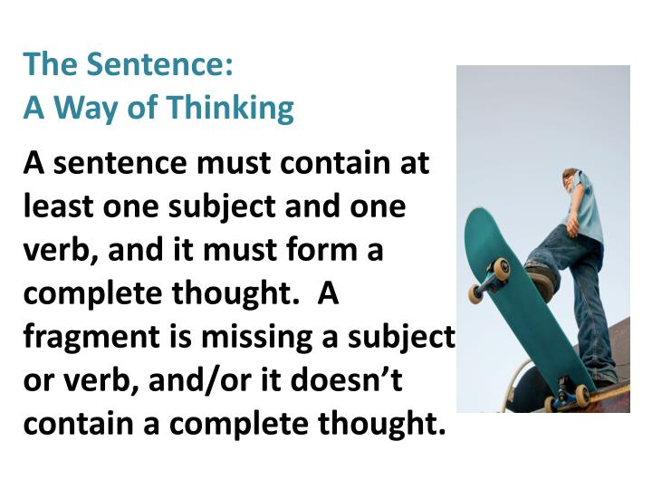 The Sentence: