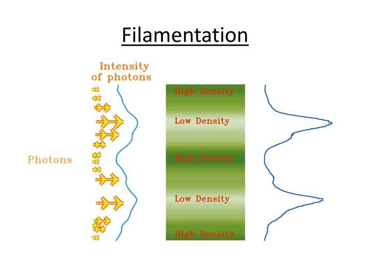 Filamentation