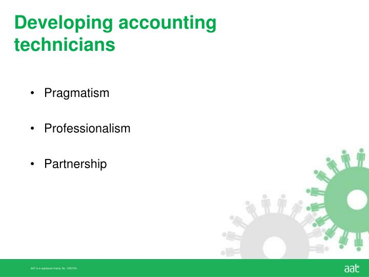 Developing accounting technicians