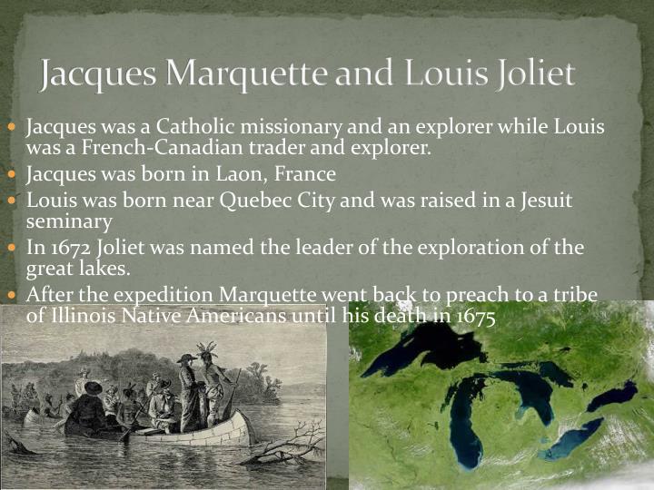 Jacques Marquette and Louis Joliet