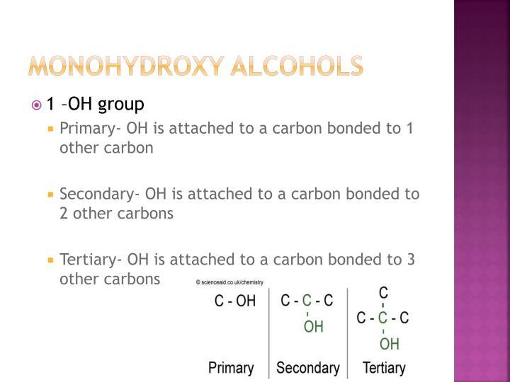 Monohydroxy