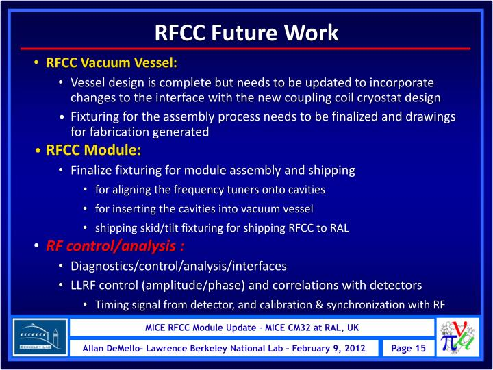 RFCC Future Work