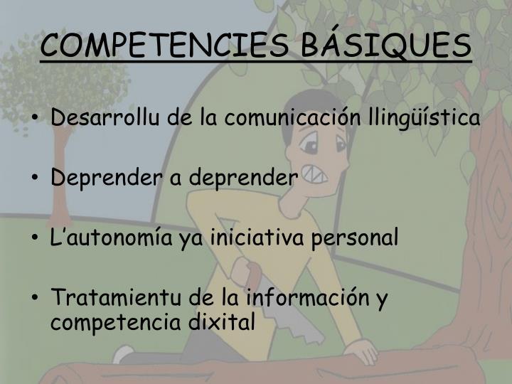 COMPETENCIES BÁSIQUES