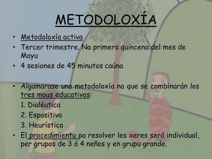 METODOLOXÍA