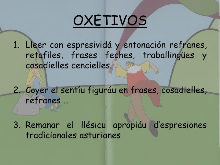 OXETIVOS