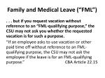 family and medical leave fml2