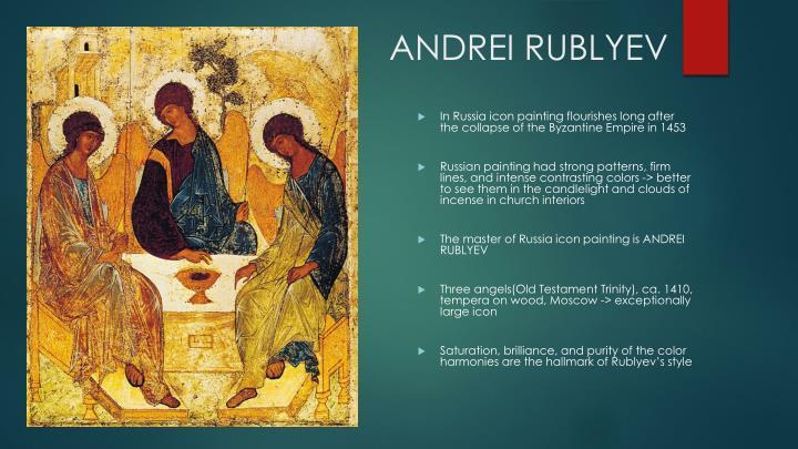 ANDREI RUBLYEV