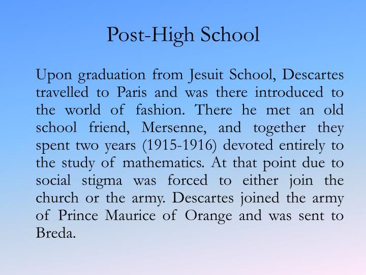 Post-High School