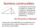 nombres constructibles