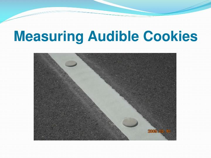 Measuring Audible Cookies
