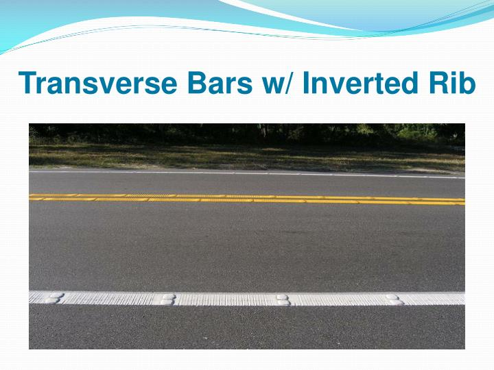 Transverse Bars w/ Inverted Rib