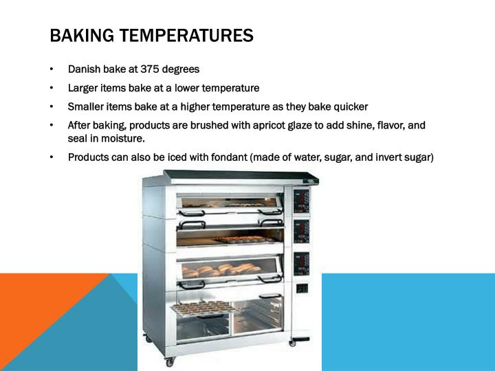 Baking temperatures