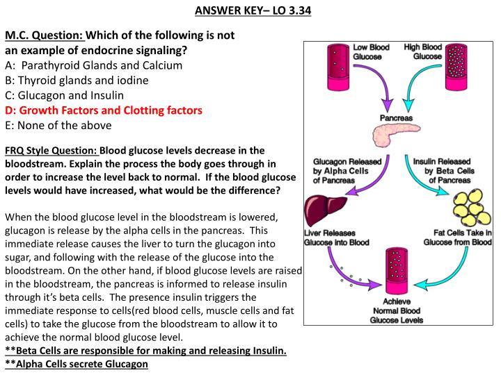 ANSWER KEY– LO 3.34