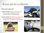 if you are in a collision1