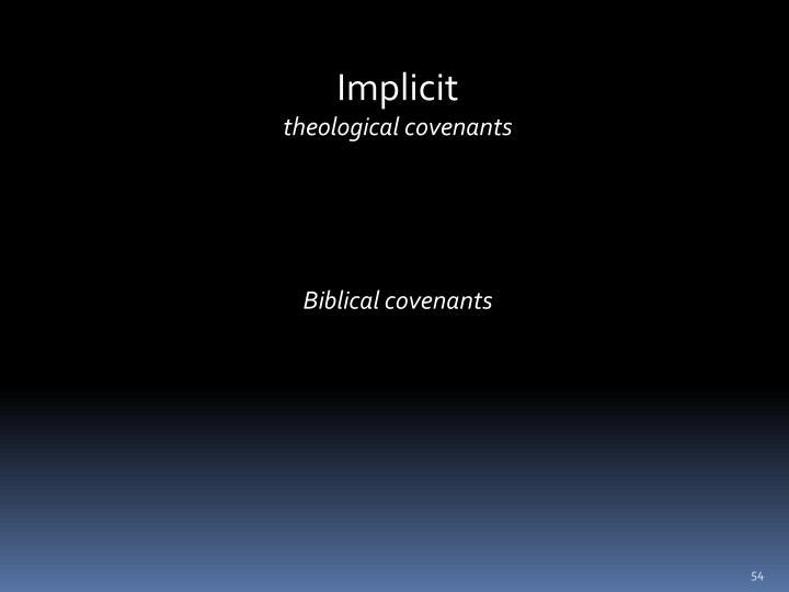 Implicit