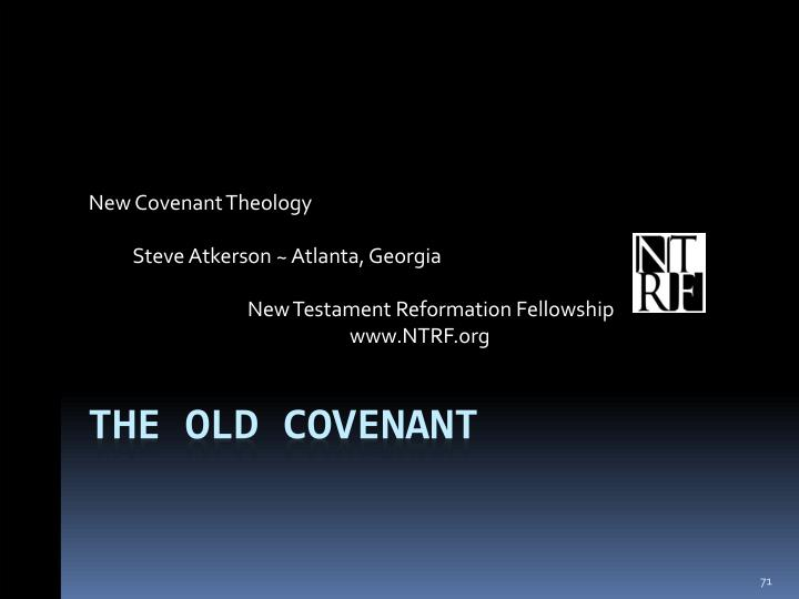 New Covenant Theology