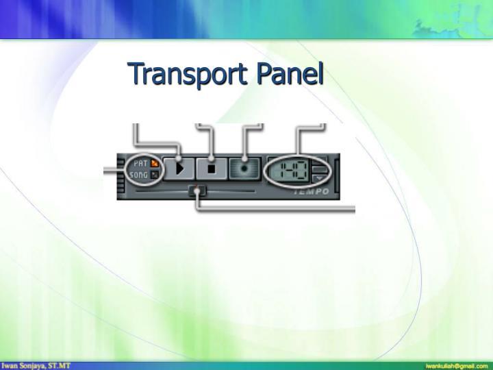 Transport Panel
