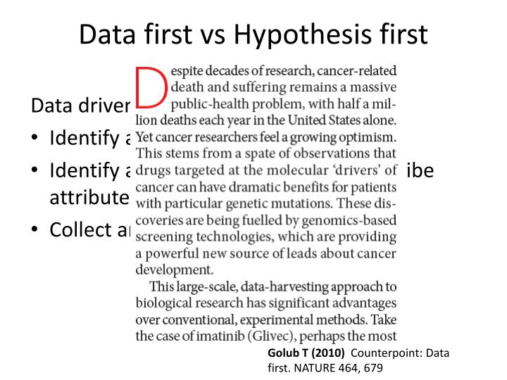 Data first vs hypothesis first2