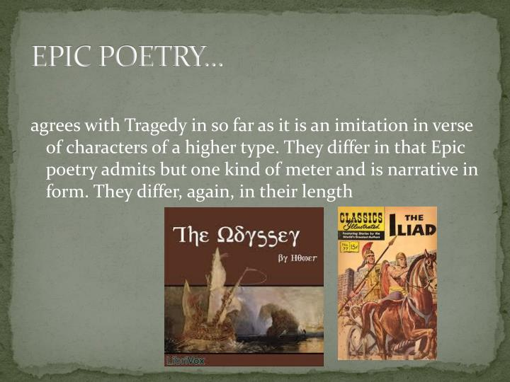 EPIC POETRY...