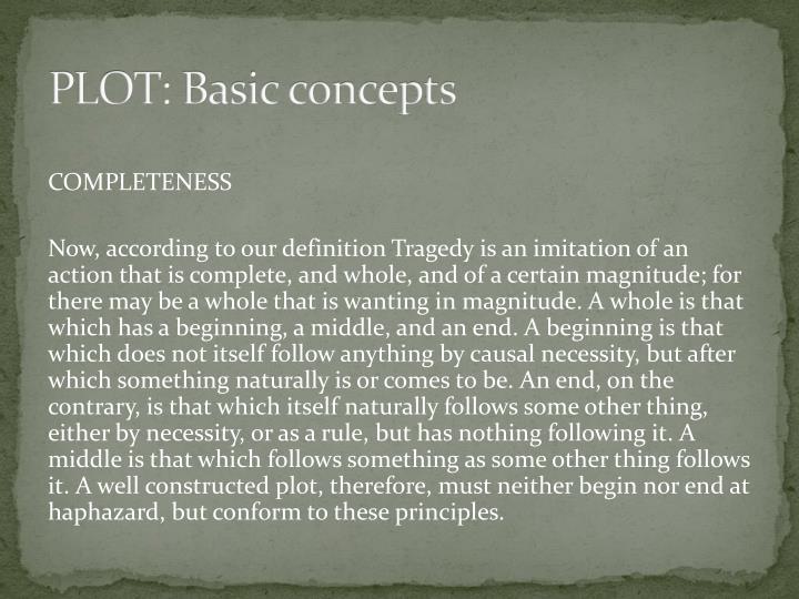 PLOT: Basic concepts