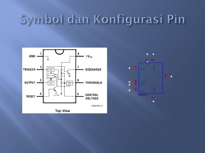 Symbol dan Konfigurasi Pin