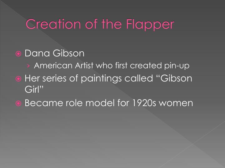 Creation of the flapper