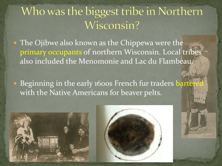 Who was the biggest tribe in Northern Wisconsin?