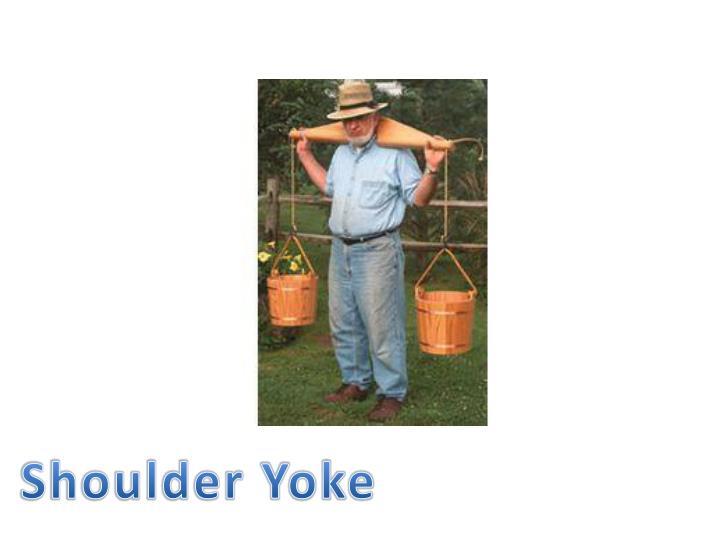 Shoulder Yoke