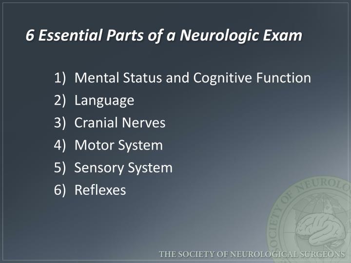 Ppt Neurological And Neuro Trauma Assessment Powerpoint